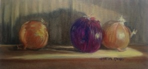 I Love Onions, oil